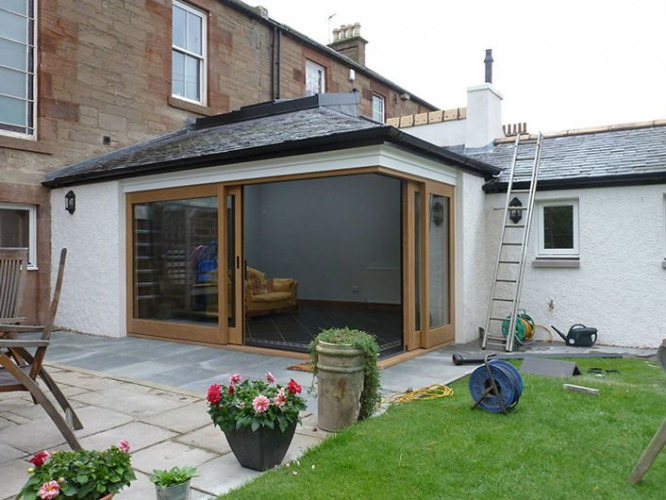 House extension, Arbroath